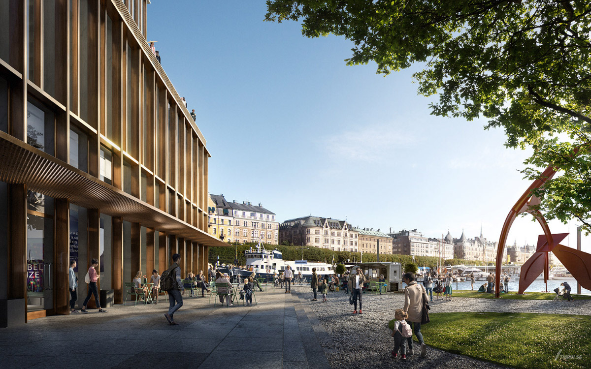 Rendering of the proposed Nobel Center