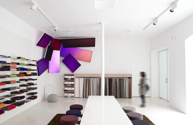 Philips Large Luminous Surfaces Soft Cells by Kvadrat