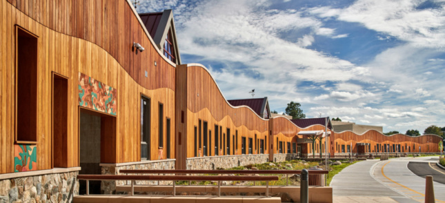 New Sandy Hook Elementary School designed by Svigals+Partners (Courtesy Svigals+Partners)