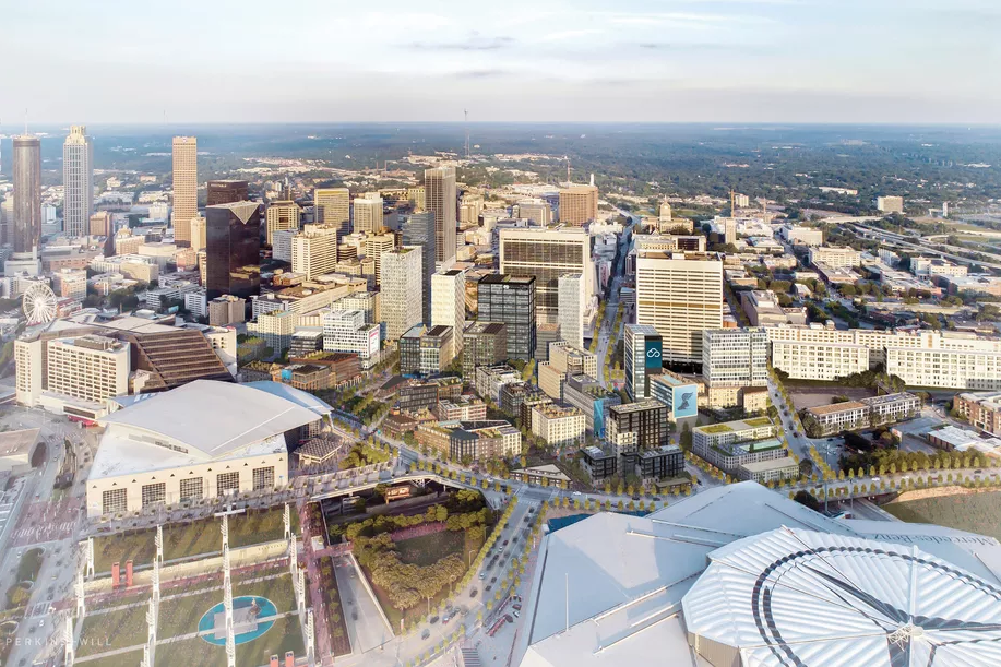 Rendering of The Gulch Atlanta