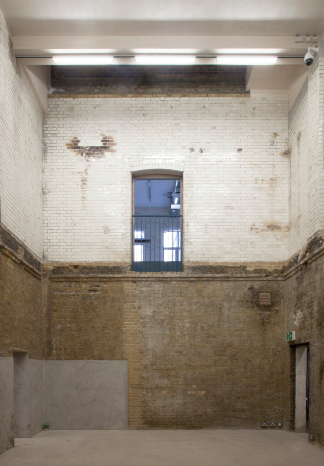 Photo of the interior of the Goldsmiths Centre for Contemporary Art designed by Assemble
