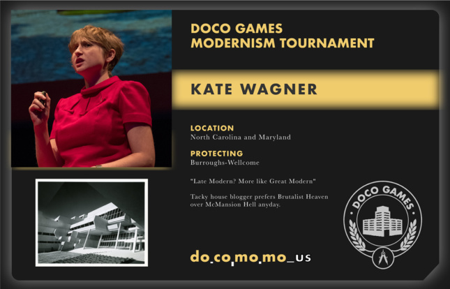 Image of Kate Wagner's role in the Doco Games