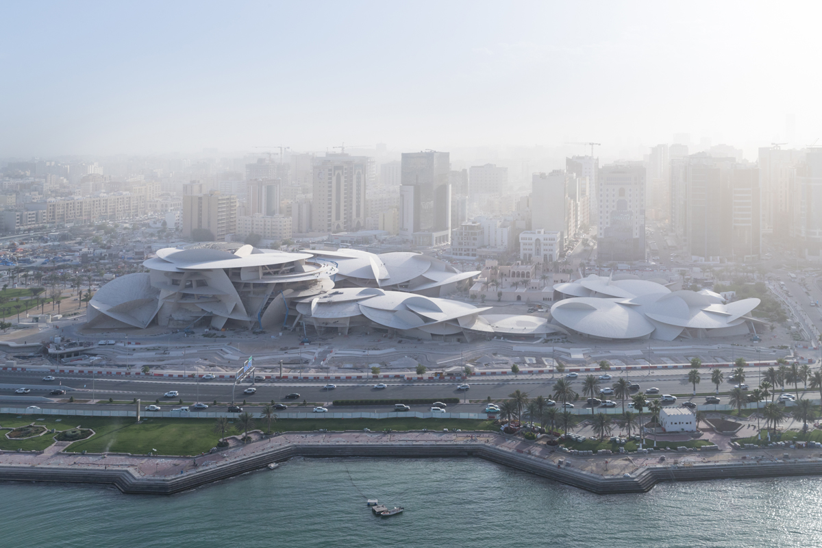 Photo by Iwan Baan of the National Museum of Qatar designed by Ateliers Jean Nouvel