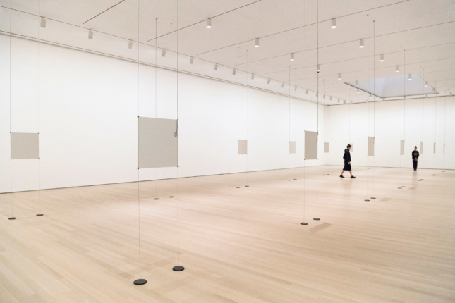 Installation view, Days at Bruce Nauman: Disappearing Acts