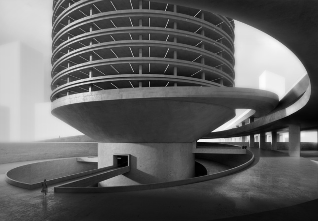 2018 Best of Design Awards winner for Unbuilt - Green Building Honorable Mention - Cooling Tower for Chicago Spire site