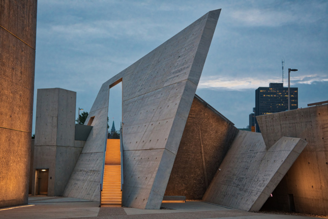 Photo of National Holocaust Monument, Focus Lighting and Daniel Libeskind