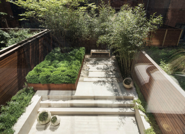 Photo of Greenwich Village Townhouse Garden by XS Space