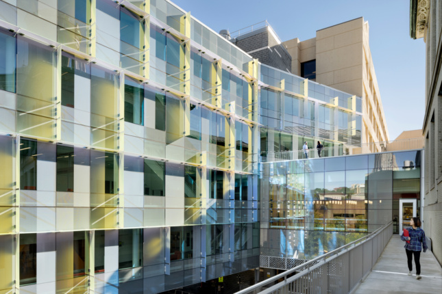 Photo of the Sherman and Joyce Bowie Scott Hall at Carnegie Mellon University by OFFICE 52 Architecture