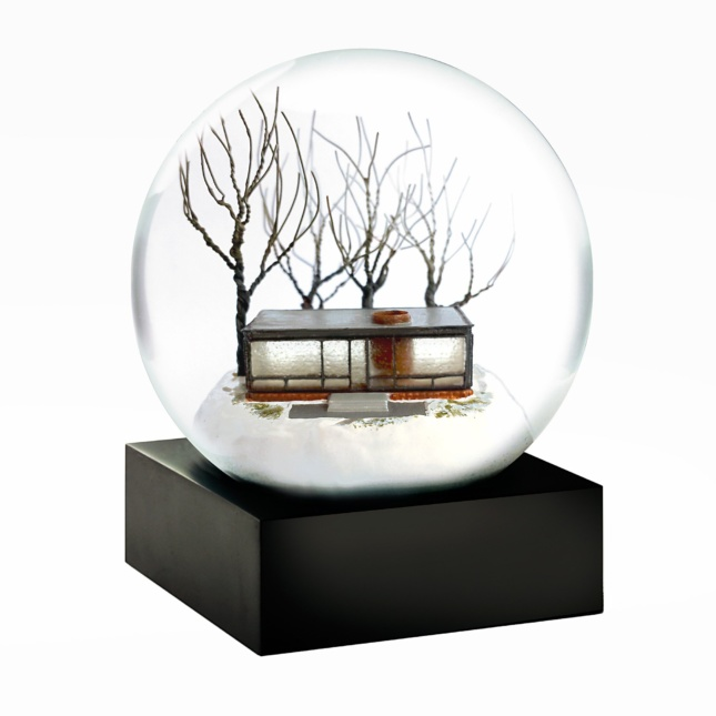 Glass House Snow Globe The Glass House Design Store