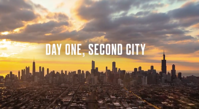 Still from the City of Chicago's bid video for HQ2