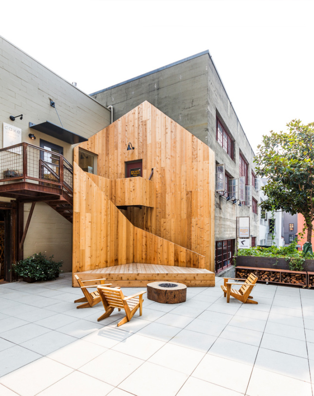 Photo of Ghost Cabin by SHED Architecture & Design