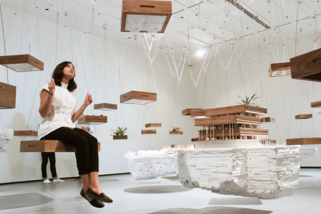 2018 Best of Design Awards honorary mention for Young Architects - Malleable Monuments