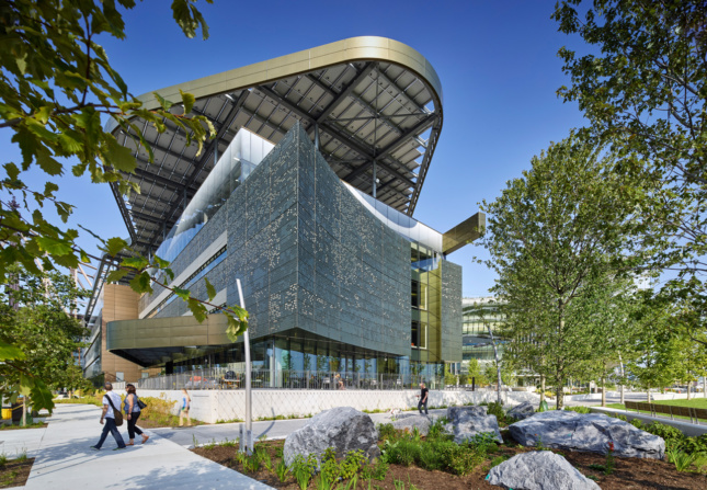The Emma and Georgina Bloomberg Center at Cornell Tech