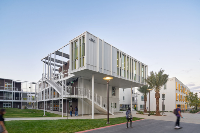 Photo of UCSB San Joaquin Student Housing by Lorcan O'Herlihy Architects