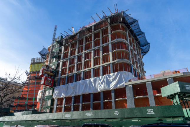 Construction photo of 515 West 18th Street