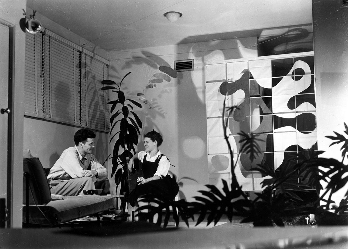 Photo of Ray and Charles Eames