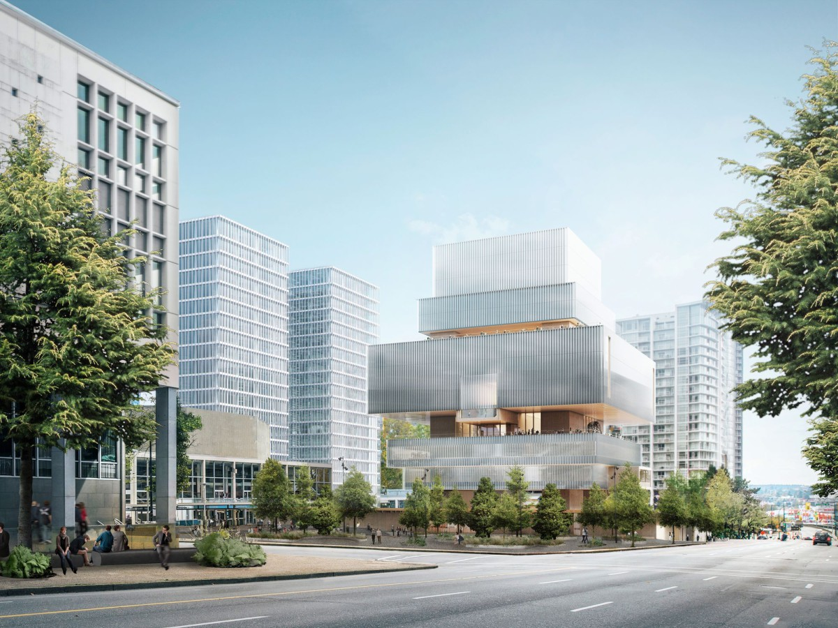 Rendering of the Vancouver Art Gallery