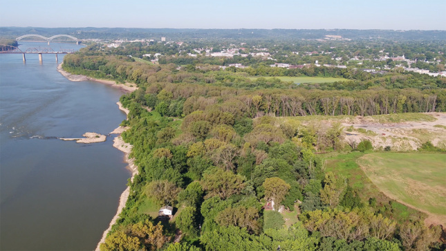 Southern Indiana Aerial Photo by Troy McCormick, Courtesy River Heritage Conservancy