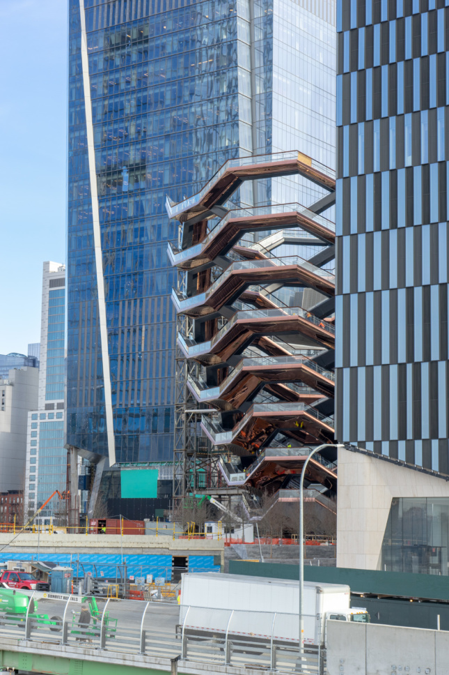 Photo of the Vessel at Hudson Yards