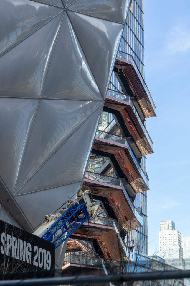 Photo of a the Vessel and the Shed in Hudson Yards