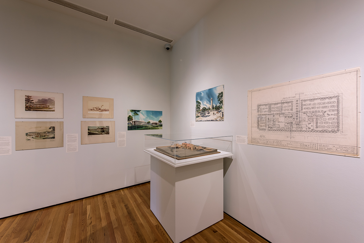 Photo of UCSB Campus Architecture: Design and Social Change exhibition