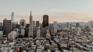 Photo of San Francisco skyline
