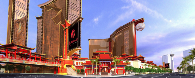 Rendering of the Resorts World Las Vegas casino
