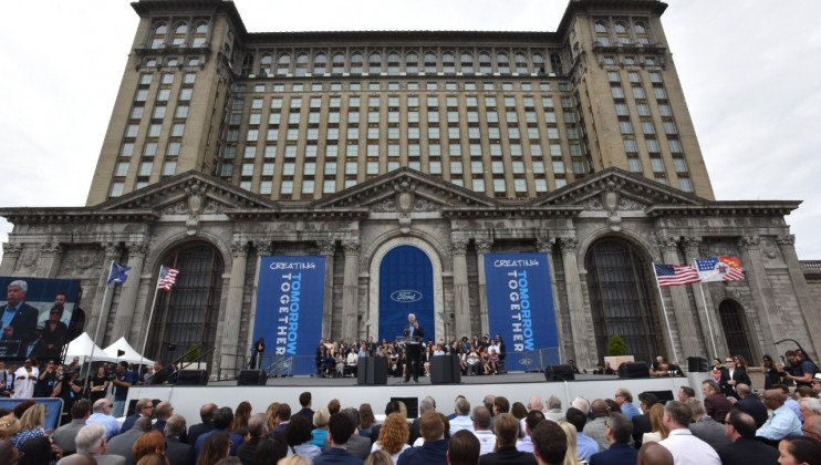 Photo of Michigan Central Station