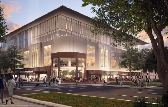 Exterior rendering of The Ion
