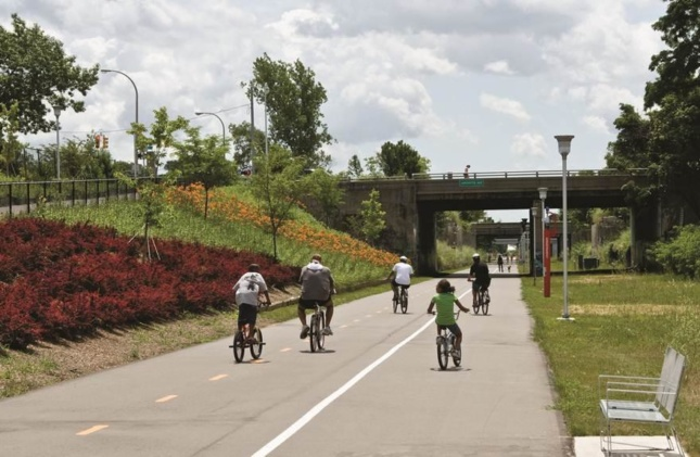 Photo of the Dequindre Cut