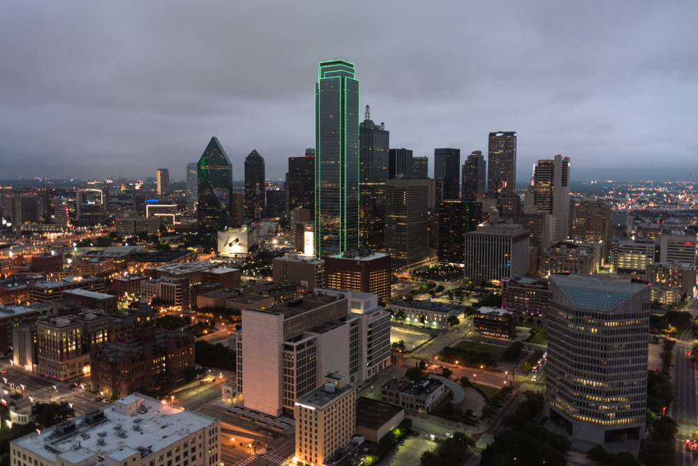 Photo of the Dallas skyline