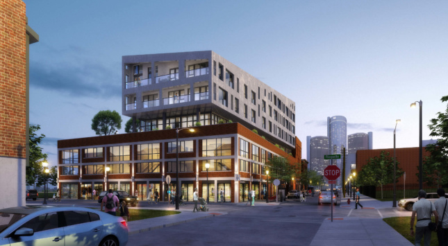 Rendering of the renovated Stone Soap Building