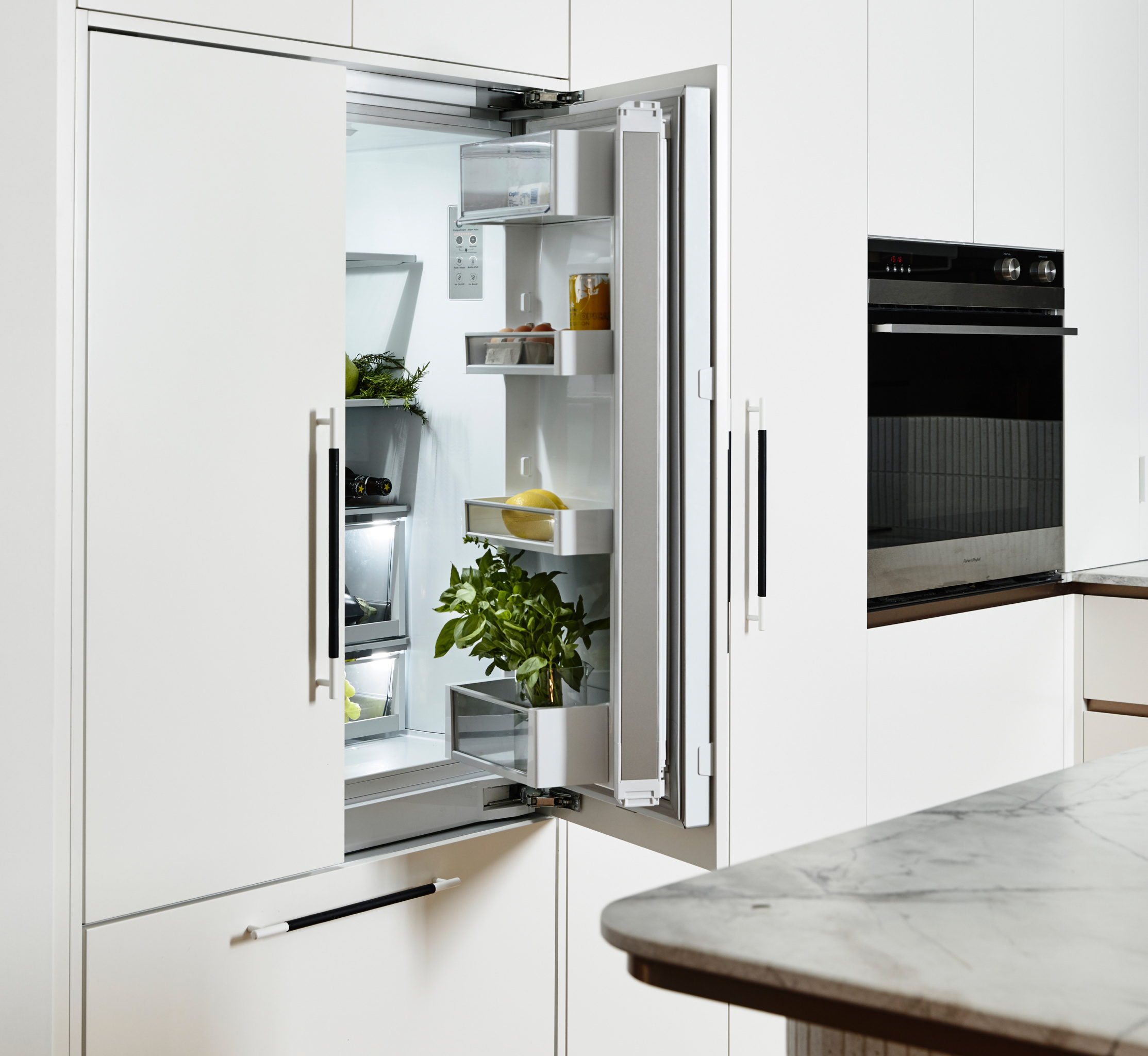 Photo of Fisher & Paykel responsive technology appliances