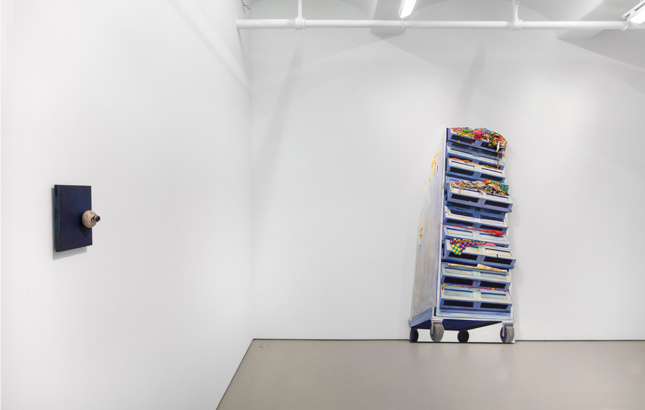 Photo of exhibition at Jack Shainman Gallery