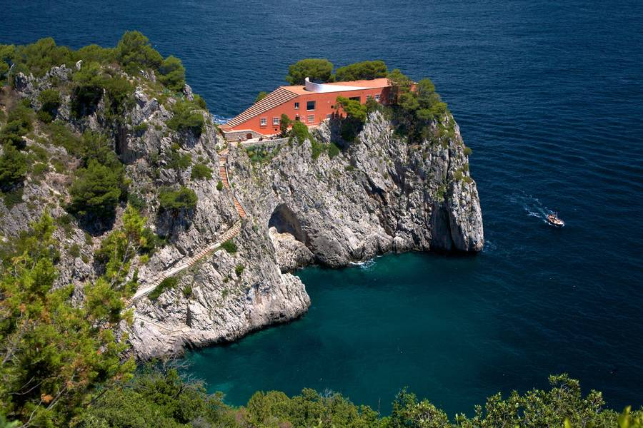 Photo of Villa Malaparte, also known as Casa Malaparte
