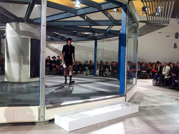 Photo of a structure on a catwalk