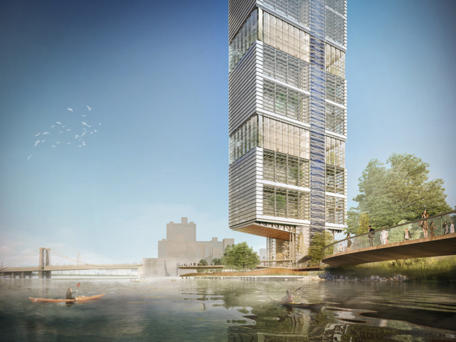 A speculative project by Little for the Brooklyn Navy Yard