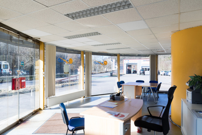 Photo of an office interior