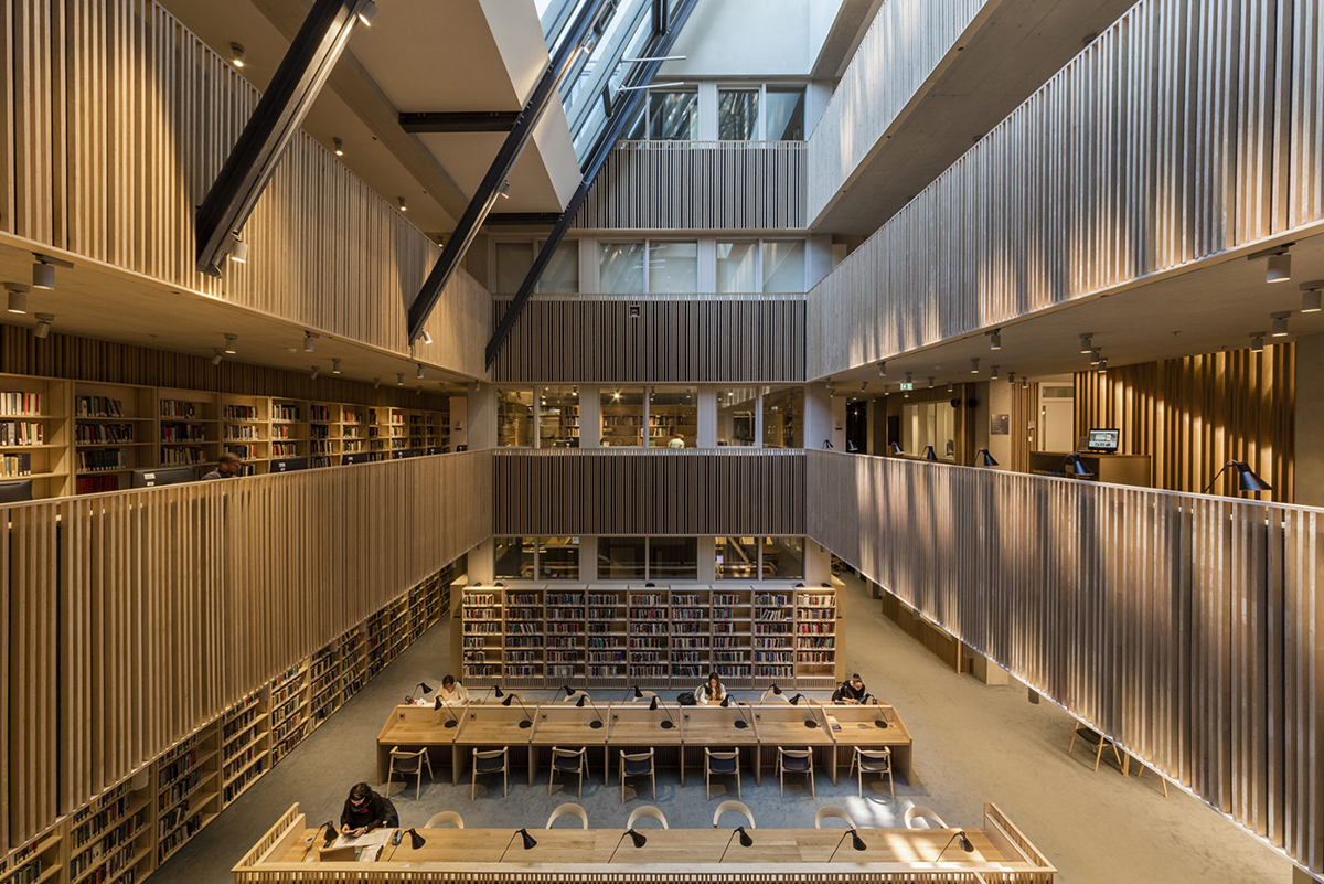 Central European University library by O'Donnell + Tuomey