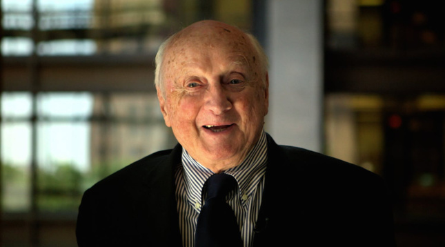 Image of Kevin Roche from documentary by Wavelength Pictures