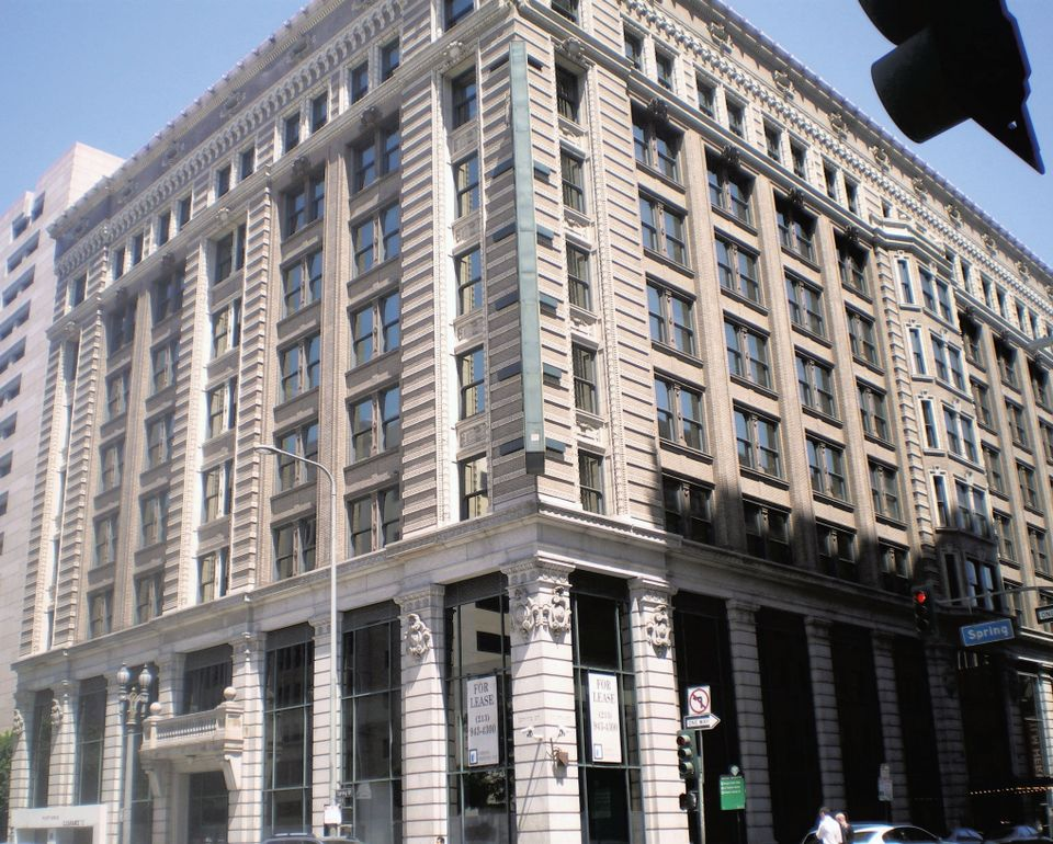 Photo of The Hellman Building in Downtown Los Angeles