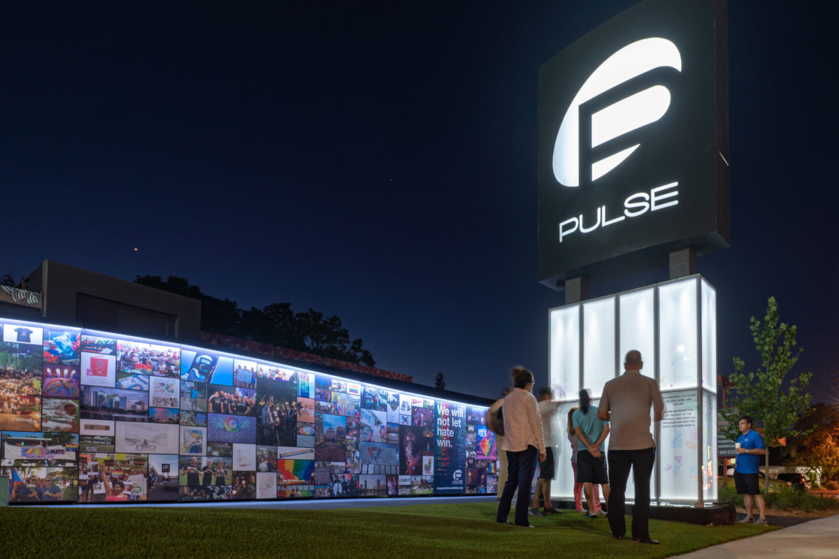 Rendering of onePulse memorial site