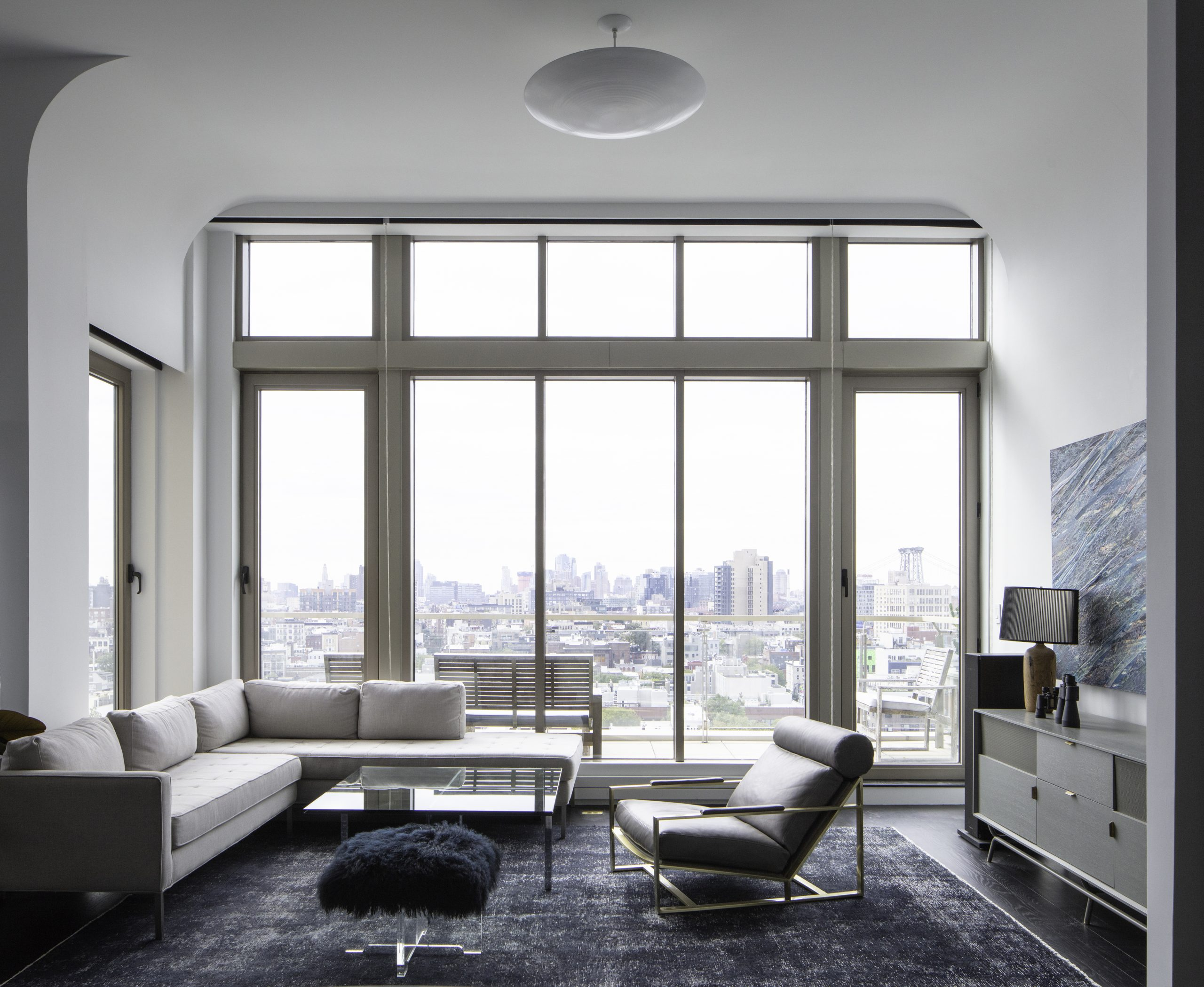 Photo of high-rise apartment interior
