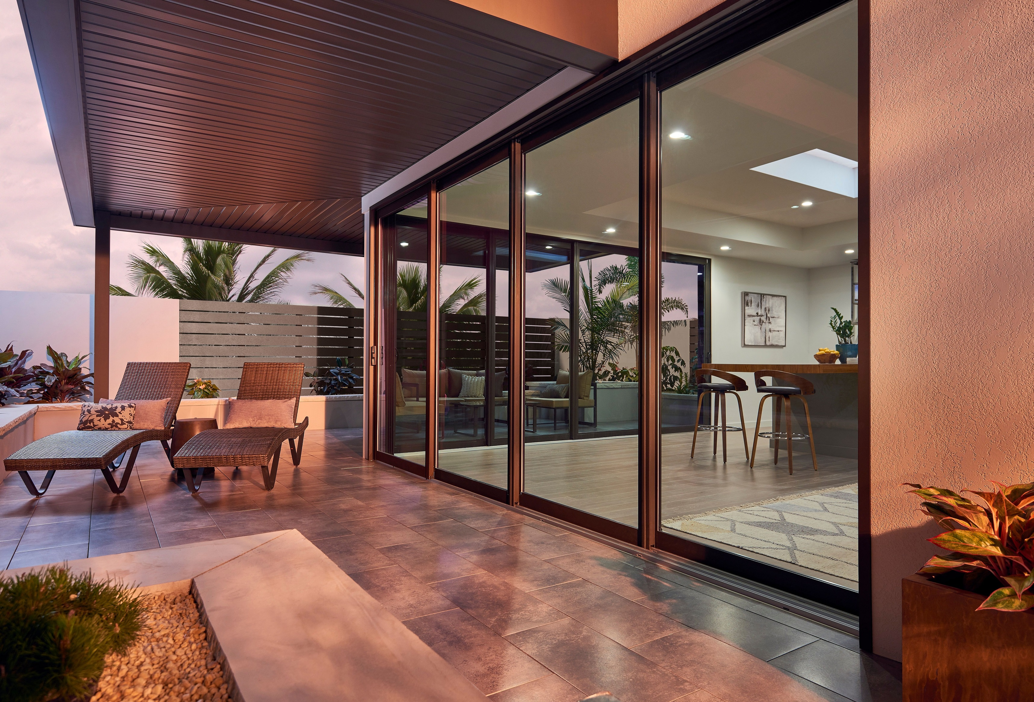 Photo of house with Ply Gem 4800 Series Patio Door