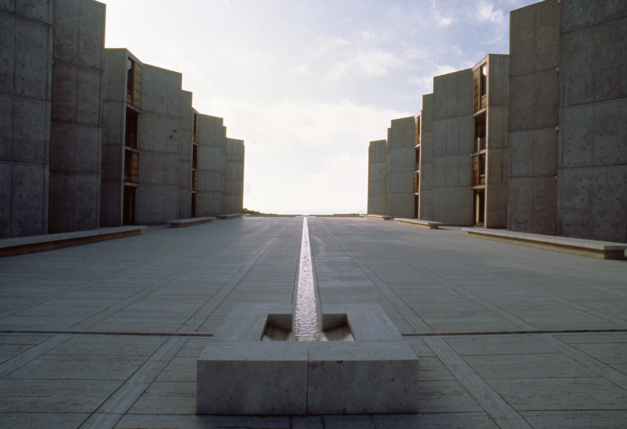 Photo of the Salk Institute by Felice Frankel