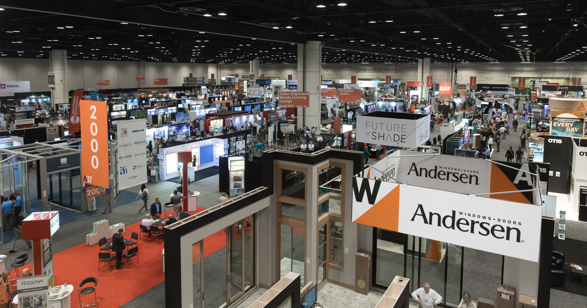 Photo of 2019 AIA Expo hall