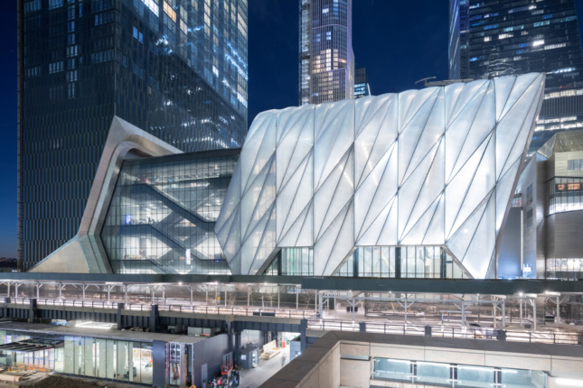 Photo of the Shed, designed by Rockwell Group and Diller Scofidio + Renfro