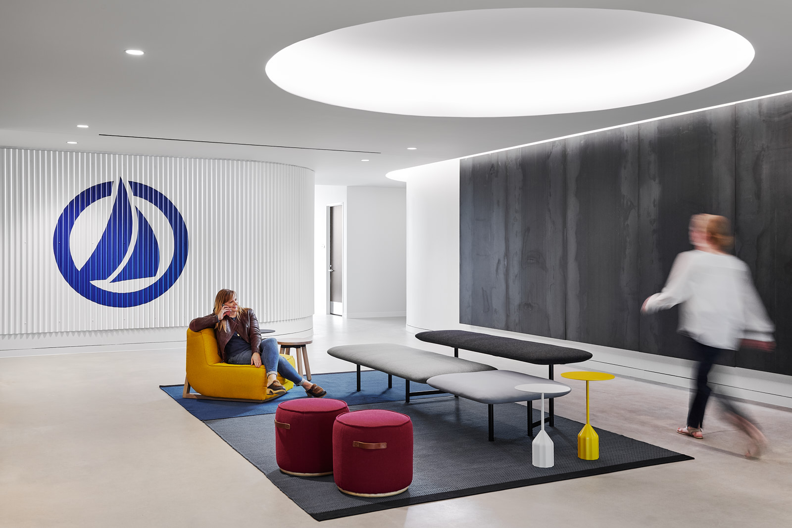 Interior of a white office space, for SailPoint