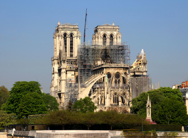 construction work at notre dame