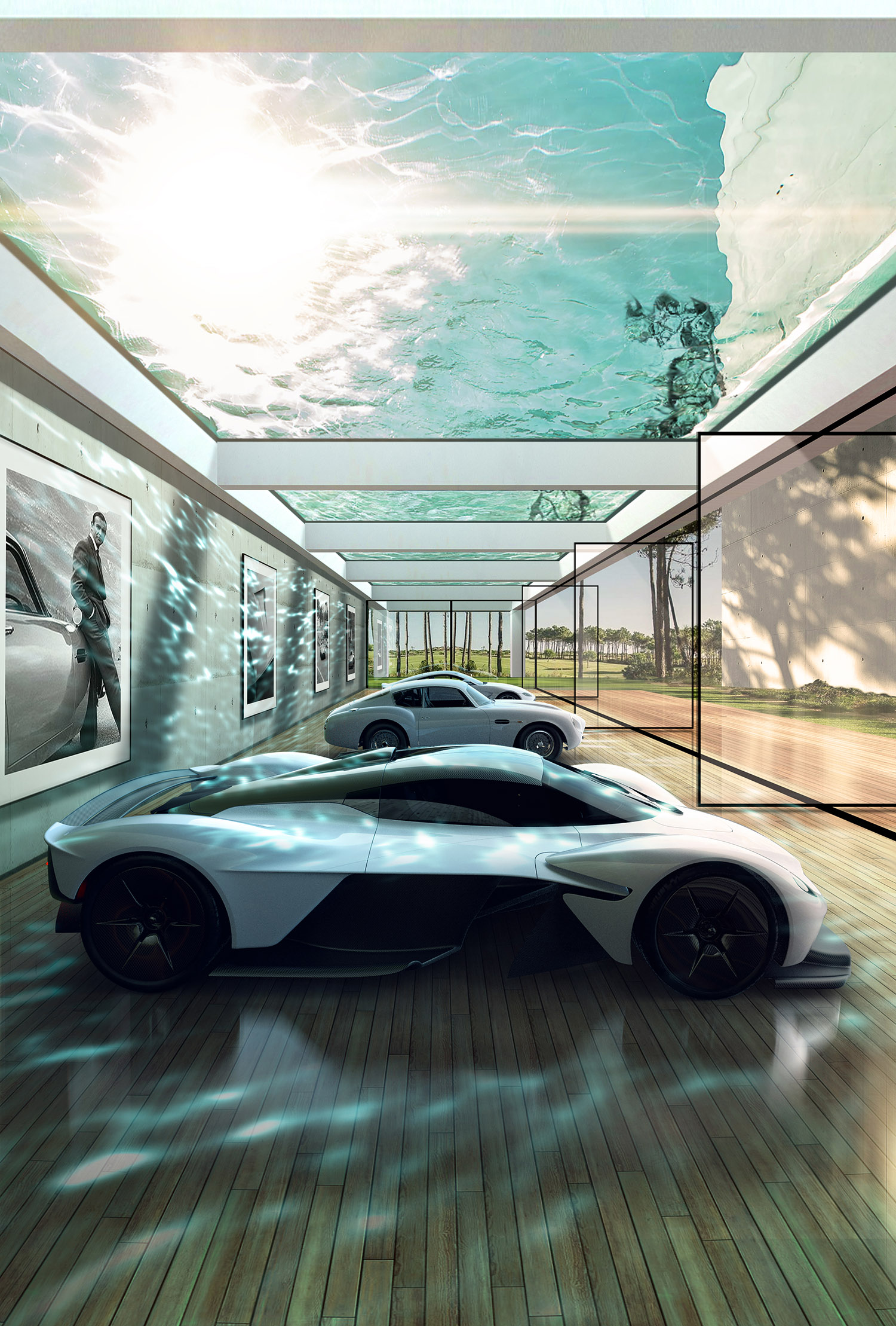 Aston Martin Will Build An Over The Top Luxury Lair For Your Car